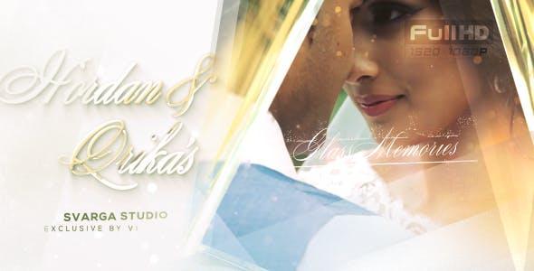 پروژه اماده شیشه خاطرات ازدواج