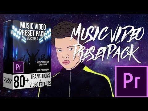 دانلود ترنزیشن موزیک ویدیو پریمیر pack 2