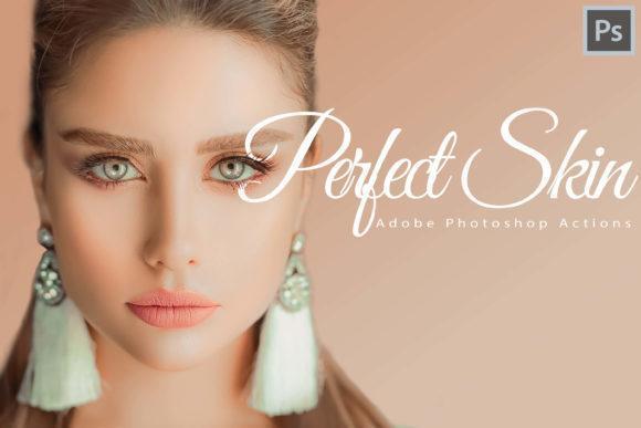Perfect Skin Theme 4 - دانلود اکشن فتوشاپ : 18 پریست پوست Perfect Skin Action Collection