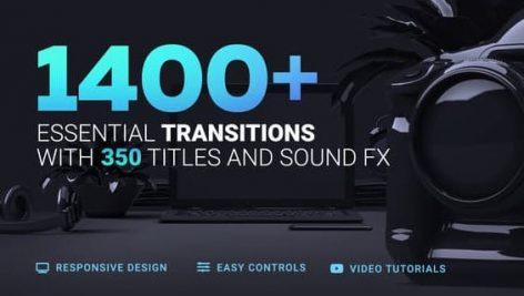 1400 Transitions Videohive 20139771