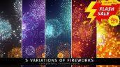 Fireworks 2560x1440 preview image discounted 172x97 - دانلود فوتیج اتش بازی fireworks footage videohive