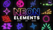 preview 1 172x97 - پروژه اماده افتر افکت مجموعه المان نئون Neon Elements