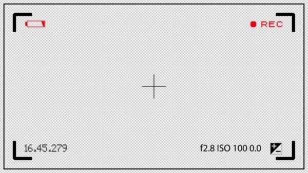 فوتیج کروماکی صفحه نمایش ضبط فیلمبرداری Camcorder View finder