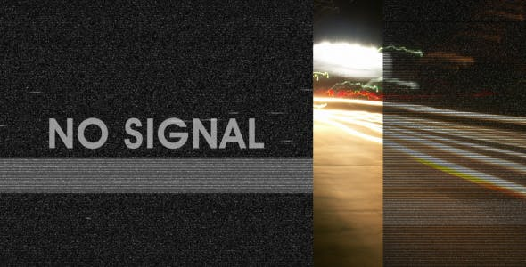 دانلود فوتیج سیگنال خراب تلویزیون Bad tv signal