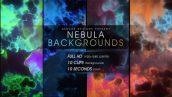 4 43 172x97 - دانلود بکگراند متحرک ابر و باد Nebula Backgrounds