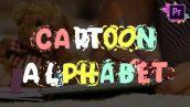 cartoon alphabet premiere pro