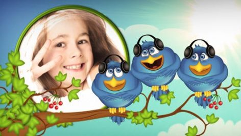 preview 8 472x267 - پروژه اماده کودکانه کارتونی + موسیقی Birds Life