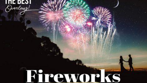 Fireworks Photoshop Overlays 1 472x267 - دانلود 50 تصویر اتش بازی برای فتوشاپ با قابلیت همپوشانی  Fireworks Overlays