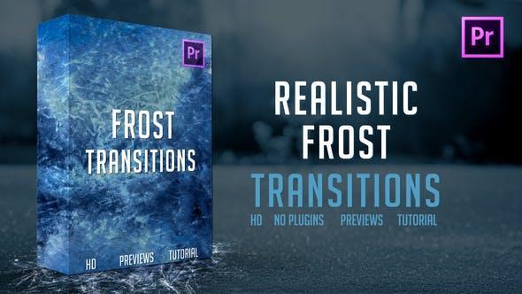 دانلود ترنزیشن یخ زدگی برای پریمیر Frost Transitions