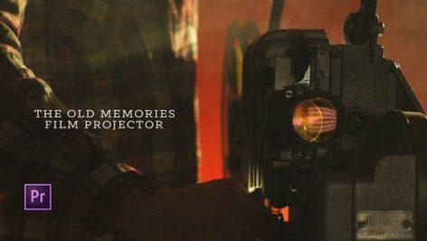 The Old Memories Film Projector