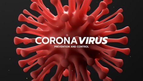 corona virus pic 472x267 - پروژه اماده افتر افکت تایتل ویروس کرونا Corona Virus Titles