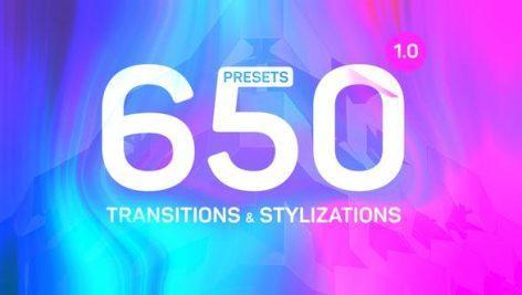 Transitions Presets Stylizations