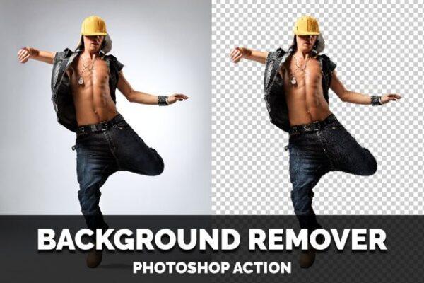 دانلود اکشن فتوشاپ حذف بک گراند Background Remover Photoshop Action