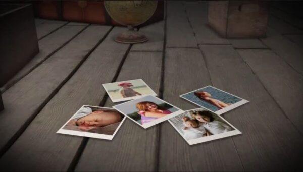 پروژه اماده افترافکت عکس های در حال سقوط Falling Polaroid Photos