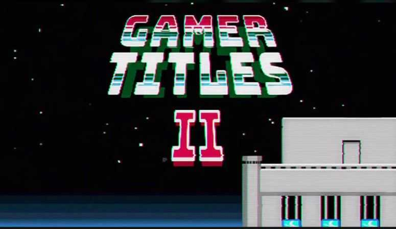 پروژه افترافکت نمایش متن به سبک بازی های کامپیوتری قدیمی Gamer Titles II