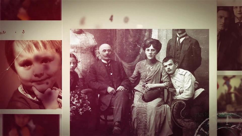 دانلود رایگان پروژه اماده افترافکت:گالری عکسهای قدیمی Retro Gallery