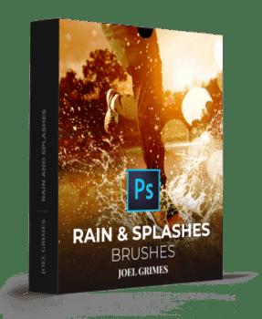 دانلود رایگان براش پاشش باران Rain & Splashes