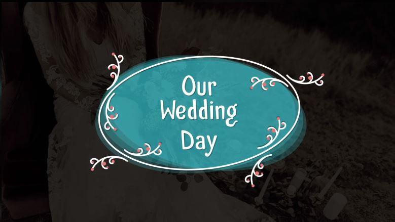پروژه اماده پریمیر تایتل عروسی Wedding titles