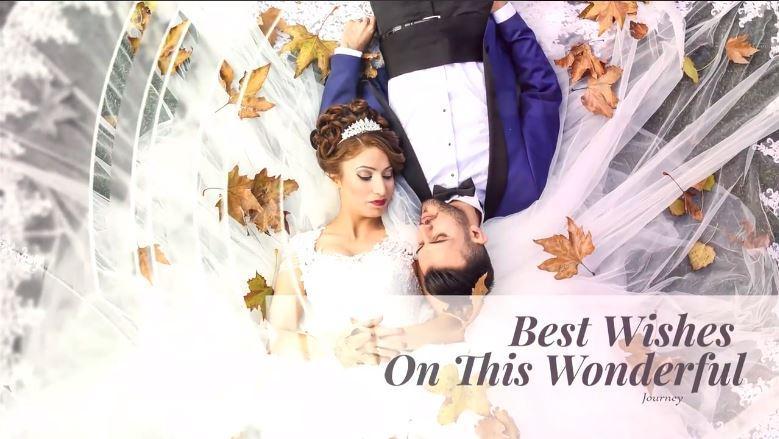 پروژه اماده عروسی پریمیر : اسلاید شو دوست داشتنی