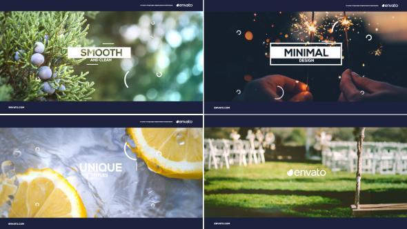 دانلود رایگان پروژه اماده افترافکت : اسلایدشو positive slideshow