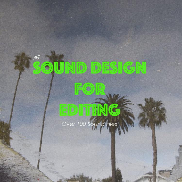 مجموعه افکت صوتی مخصوص تدوین SOUND DESIGN FOR EDITING