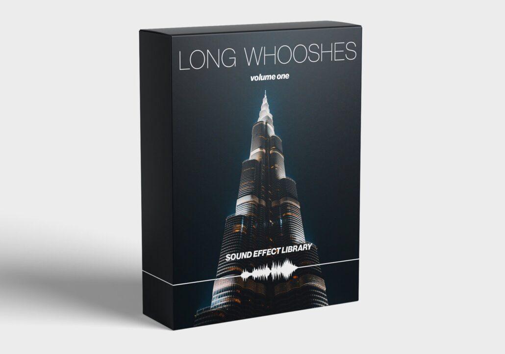 مجموعه افکت صوتی عمیق و هیجان انگیز برای لحظات انرژی حماسی Long Whooshes