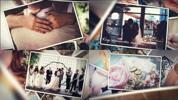 پروژه اماده افترافکت البوم عکس عروسی Wedding Photo Album