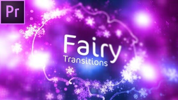 دانلود ترنزیشن پریمیر : سحر و افسون گری Fairy Transitions