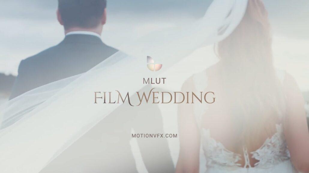 مجموعه lut تنظیم رنگ فیلم عروسی mLUT Film Wedding